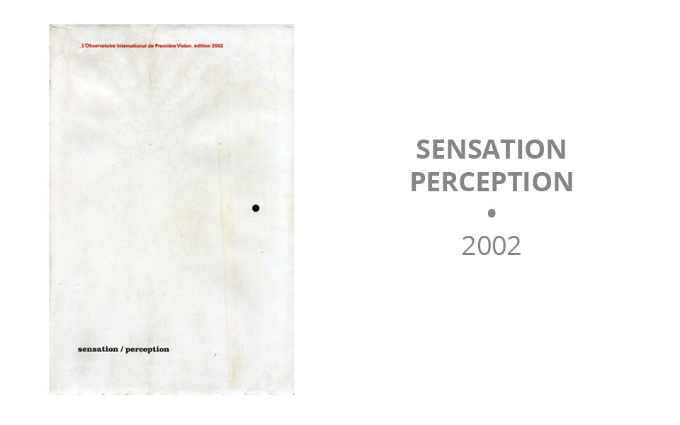Sensation Perception - 2002