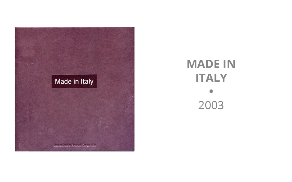 Made in Italy - 2003