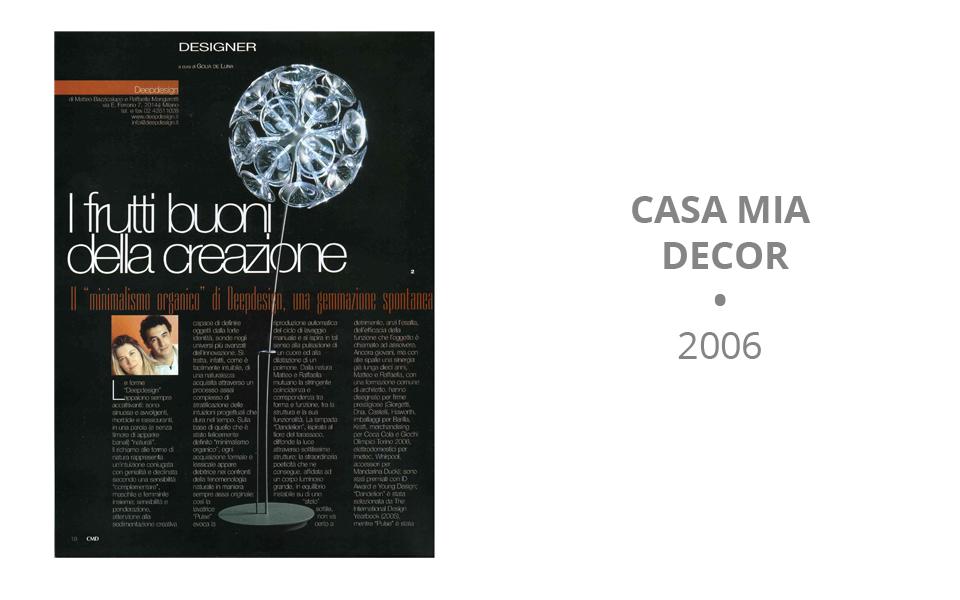 Casamia Decor - 2006